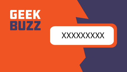 Geek Buzz Card